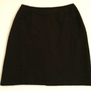 Worthington Womens black skirt size 12